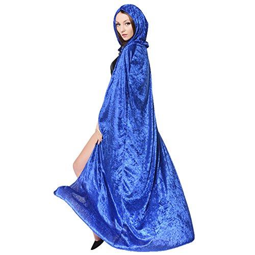 LPATTERN Halloween Umhang Hexe Zauberer Erwachsene Cosplay Kleidung