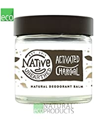 Native Unearthed Natural Deodorant, Activated Charcoal, 60 ml
