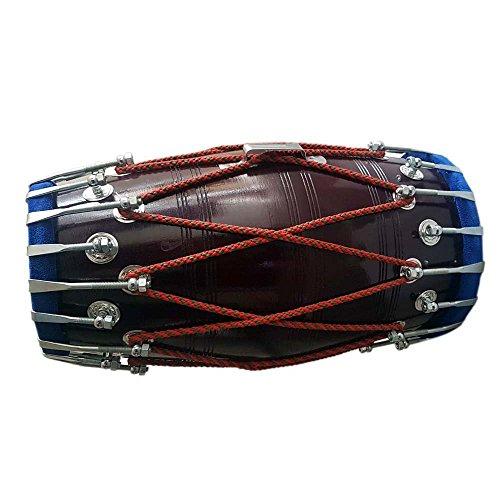 Handgemachte hölzerne Dholak indische Folk Musikinstrument Drum durch Seil gebunden, Bulk/Wholesale also Available at Discount Price