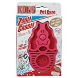 Zoom Groom For Dogs - Assorted Colors by KONG COMPANY (English Manual)