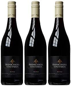 Franschhoek Vineyards Shiraz 2013 Wine 75 cl (Case of 3)