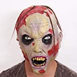 DYMAS Halloween Gruselige Grimasse Zombiemaske