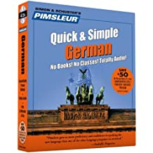 Pimsleur German Quick & Simple Course - Level 1 Lessons 1-8 CD: Lessons 1-8 Level 1: Learn to Speak and Understand German with Pimsleur Language Programs