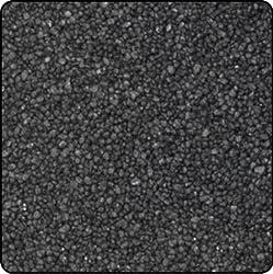 Farbsand, Dekosand farbig ca 0,5 mm. 1 KG in schwarz