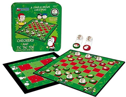 A Charlie Brown Christmas Checkers / Tic Tac Toe