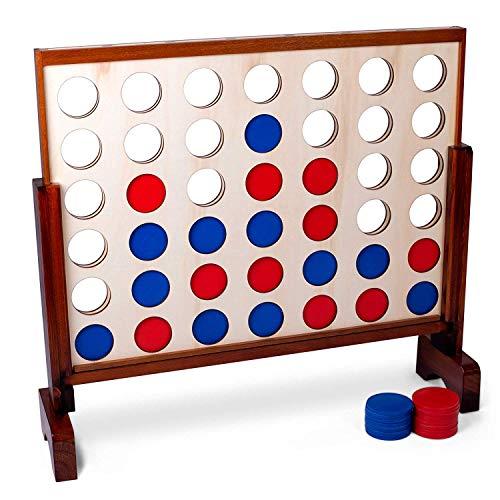 Brybelly Riesenbrettspiel für Partys im Freien, Grillabende, Hochzeiten und mehr, ideal für Erwachsene und Kinder Aller Altersgruppen, übergroßes Spiel für Innen- und Außenbereiche. Pro-koch-block