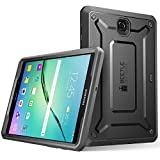 Samsung Galaxy Tab S2 9.7 Hülle, SUPCASE [Unicorn Beetle PRO Serie] Ganzkörper-Rugged Schutzhülle mit integrierter Displayschutzfolie / Gehäuse / Tasche / Cover / Case / Zubehör (Schwarz)