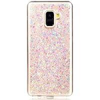 Shinyzone Galaxy A8 Plus 2018 Bling Glitzer Handyhülle, Samsung Galaxy A8 Plus 2018 Hülle Luxus Glänzend Pailletten... preisvergleich bei billige-tabletten.eu