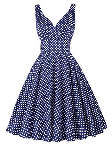 textur-50s-vintage-kleid-suess-rockabilly-kleid-picknick-kleid-marineblau-grosse-xl-cl6295-2