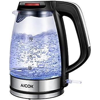 Aicok waterkoker 1,7l met LED-licht voor €21,99
