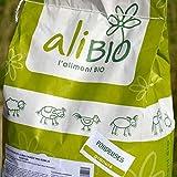 Agro Sens Sac d'Aliment Complet Biologique pour Poule Pondeuse 8 kg