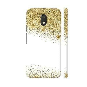 Colorpur Gold Foil Confetti 5 Designer Mobile Phone Case Back Cover For Motorola Moto E3 / Moto E3 Power | Artist: UtART