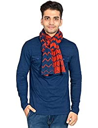 513 Striper Knitted Wool/Acrylic Women's Muffler