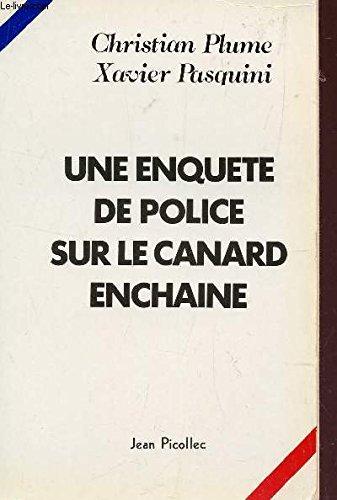 Une enquete de police sur
