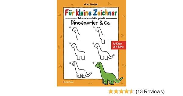 Fur Kleine Zeichner Dinosaurier Co
