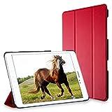 JETech 3222- Étui pour Samsung Galaxy Tab A 9.7, Coque avec Support Fonction, Veille/Réveil Automatique, Rouge