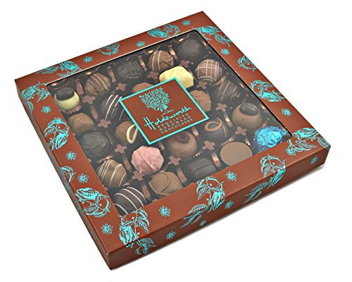 Holdsworth Exquisite Handmade Chocolates a Large Window Gift Box of Entirely Handmade Assorted Chocolates and Truffles 300 g