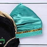 iEFiEL Prinzessin Kostüm Karneval Verkleidung Eiskönigin Party Kleid Ballkleid Blumenmädchen Festliche Kleider in Grün 12 Monate- 6 Jahre Grün 110-116 Test