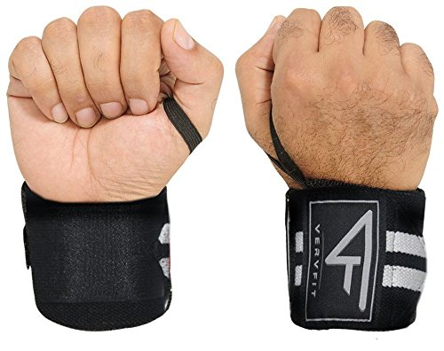 Vervfit Wrist Wraps With Thumb Loops For Men & Women