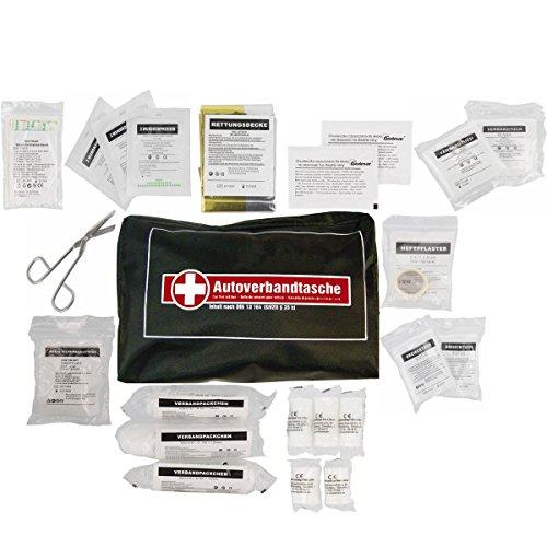 Preisvergleich Produktbild KFZ Kombi-Verbandtasche Autoverbandtasche 37 Teile Pflicht nach DIN 13 164