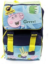 accademia 140951 mochila estens. la escuela de george peppa pig primino
