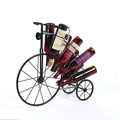 Lxc Metall Wein Weinregal Fahrrad Form Kreative Heimat Desktop Veranda Dekoration Handwerk Bar Weinschrank Dekorationen 8 Grid Dekoriere Dein Leben -