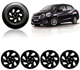 #3: Auto Pearl-Premium Quality Car Full Black Wheel Cover Caps 14