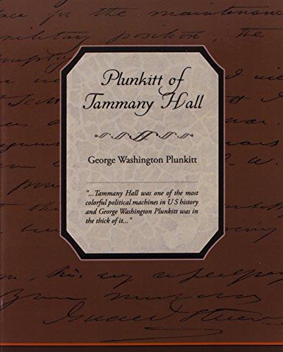 Plunkitt of Tammany Hall Cover Image