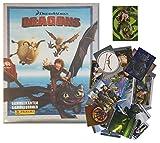 Panini - Dragons Sammelkarten Serie 2 - Komplettes Sammelset mit Allen 162 Karten inkl. Album + 1 Limitierte Zusatzkarte - deutsche Ausgabe