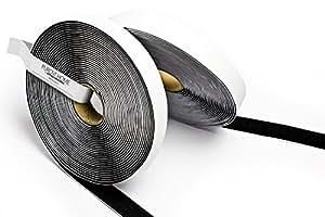 purovi haken und klettband feste befestigung schwarz 5m lang 20mm breit baumarkt. Black Bedroom Furniture Sets. Home Design Ideas
