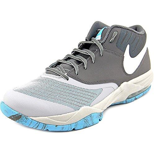 Nike Herren Air Max Emergent Basketballschuhe, 42 EU Wolf Grey/Dark Grey/Gamma Blue/White