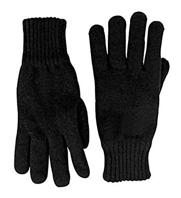 Thinsulate Mens 3M Black Thermal Lined Winter Gloves : everything 5 pounds (or less!)