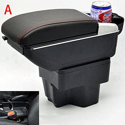 szss-car Leder KFZ-Teile Mittelkonsole Armlehne Box Automatische Armlehnen Lagerung mit USB