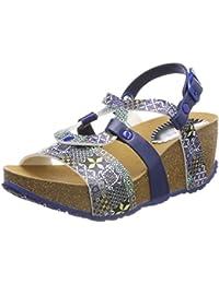 Blu 41 EU Desigual Shoesbio9 Mosaic Sandali con Cinturino Alla Caviglia 57i
