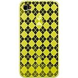 Katinkas 6002286 Housse en silicone TPU pour Apple iPhone 4 Jaune