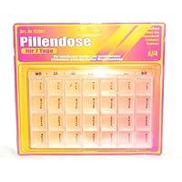 Pillendose Pillenbox (Abends/Morgens) Tablettenbox Medi Box Medikamenten Dosierer 7 Tage preisvergleich bei billige-tabletten.eu