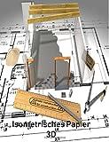 Isometrisches Papier 3 D Projekte: Isometriepapier, Isometrieblock, Isometrie, 3D-Zeichenbuch Dreiecknetzpapier isometrisches Zeichnen,Architekt,3 D ... Zeichnung,200 Blatt 21.59 x 27.94 cm,