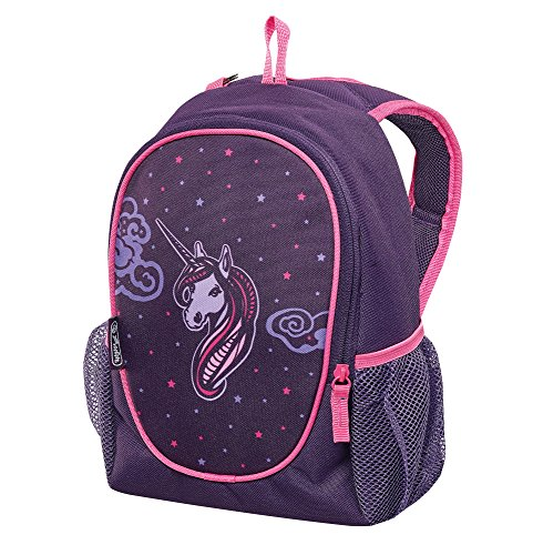 Herlitz Kindergartenrucksack Rookie Kinder-Rucksack, 29 cm, Unicorn Night