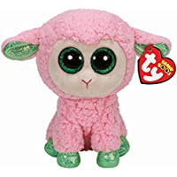 TY - Peluche oveja Leyla Beanie Boos (15 cm), Juguete Peluche Primera infancia