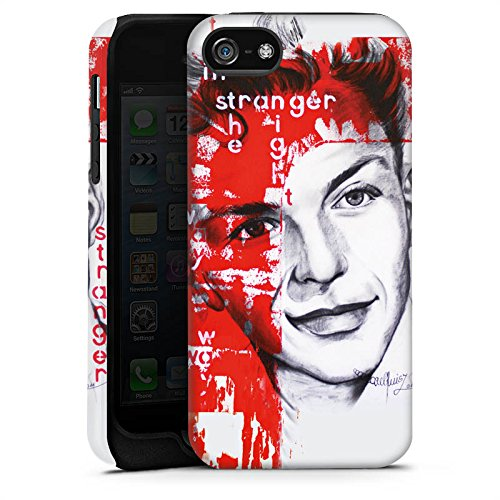 Apple iPhone X Silikon Hülle Case Schutzhülle Frank Sinatra Zeichnung Mann Tough Case matt