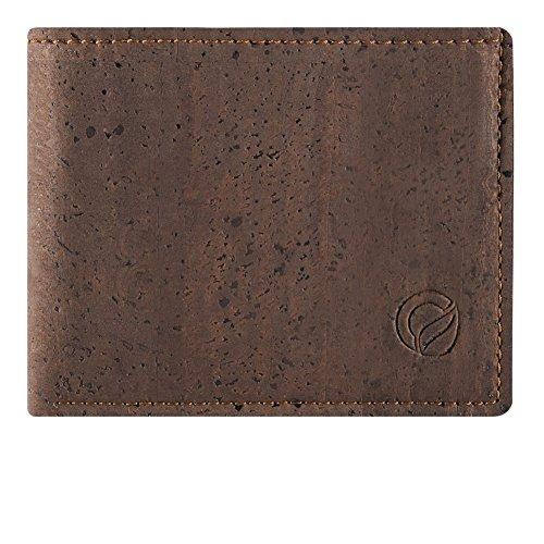 cork-wallet-coin-pocket-rfid-blocking-vegan-wallet-for-men-non-leather-brown-color