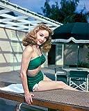 Janet Blair 10x 8fotografia promozionali Beautiful in bikini Posing on Diving Board