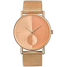 Relojes Hombre,ZODOF Reloj de Pulsera de Analógico de Cuarzo Relojs Elegante Impermeable Negocios Relojes