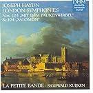 Hadyn: London Symphonies No. 103 + 104