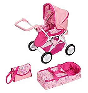 Luxury baby born dolls pram: Amazon.fr: Jeux et Jouets