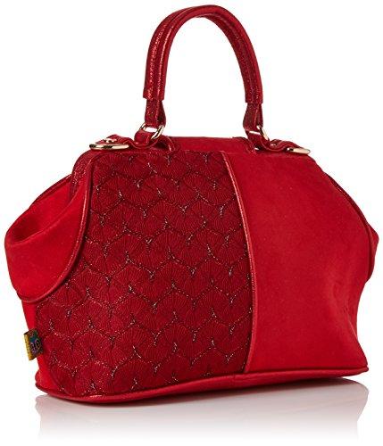 Irregular Choice Damen Field of Dreams Bag Shopper, Rot (Red), 13x20x30 centimeters - 2