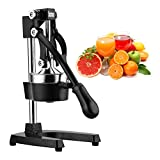Best Commercial Juicers - Excelvan Hand Press Citrus Commercial Juicer Pro Manual Review