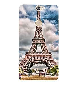 Fuson Designer Back Case Cover for Coolpad Max (Eiffel Tower Paris PAris love Love of Paris Global Cultural Icon )