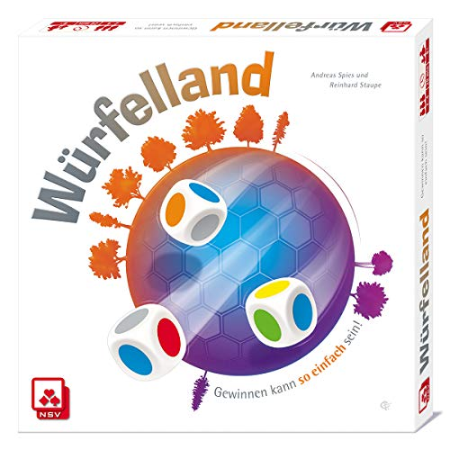 NSV - 4058 - WÜRFELLAND - Würfelspiel Spy Fall
