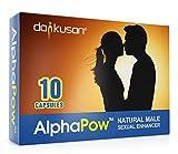 AlphaPow (ORIGINALE Capsule Trasparenti) Integratore Energetico Maschile Naturale ad Alta Intensità